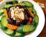 海鲜菇炒小黄瓜