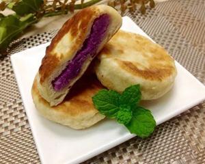 紫色山药馅饼