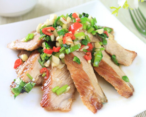 台式香料松阪猪肉