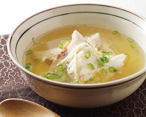 姜丝鱼片汤