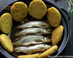 小杂鱼泡饼