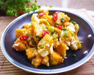 金沙南瓜(烤箱版)