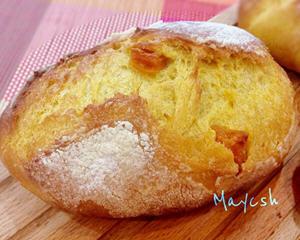 酒酿芒果软法面包