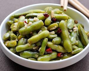 武汉凉拌毛豆