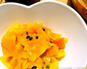 百香果腌南瓜
