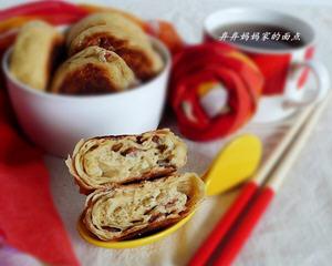 荞麦面培根千层饼
