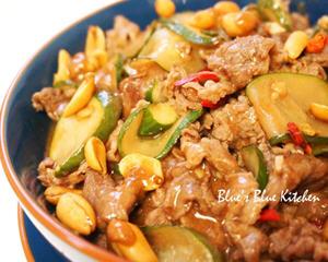 绍兴牛肉炒黄瓜片