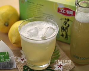 清凉蜂蜜柠檬绿茶