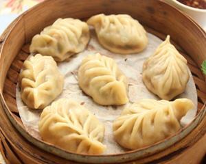 三鲜叶形蒸饺