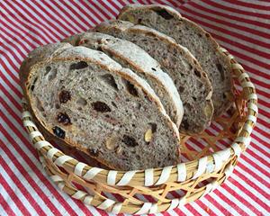 红酒果干面包