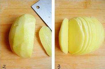 土豆怎么切片