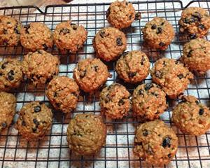 蓝莓燕麦饼干