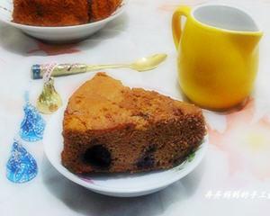 蓝莓巧克力鸭蛋蛋糕