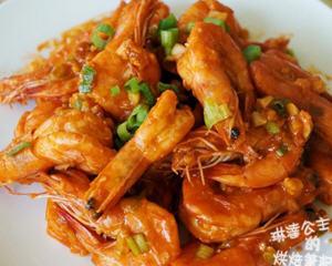 蒜味茄汁虾