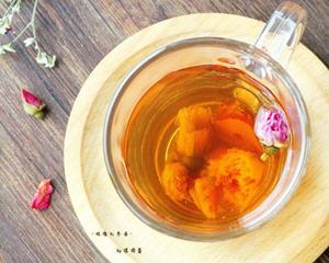 玫瑰花红枣茶