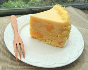 芒果卡士达慕斯蛋糕
