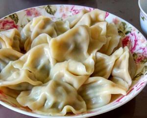 茴香猪肉饺子
