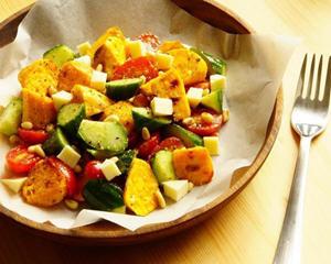 烤地瓜坚果沙拉