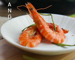 黑椒葱香虾