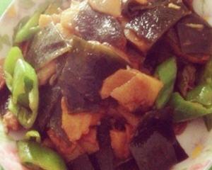 海带根炒土豆片
