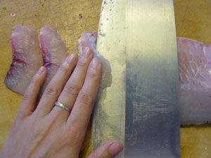 草鱼切片方法图解
