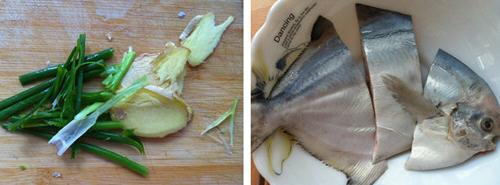 香煎金鲳鱼的做法_图解香煎金鲳鱼做好吃石狮哪家鸡爪好吃图片