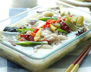 水煮酸菜鱼片
