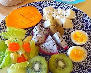 假日轻食早餐蔬果篇