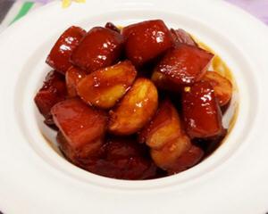 金蒜红烧肉