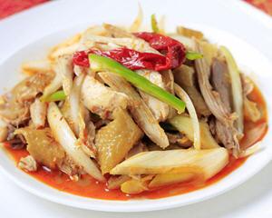 正宗的新疆椒麻鸡