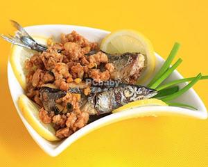 红烧秋刀鱼(孕妇晚期)