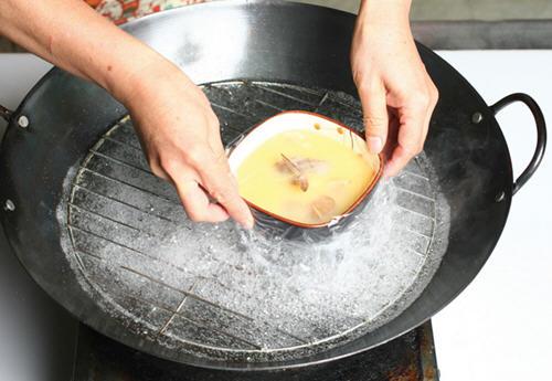 在家做茶碗蒸成功三大关键步骤