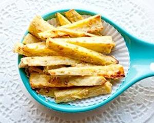 黄金芝麻地瓜薯条(3分钟排毒美容)
