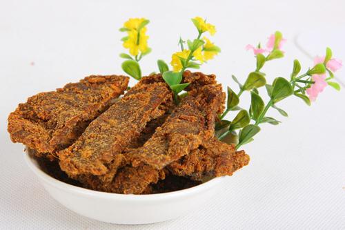 牛肉干的营养价值和营养含量表