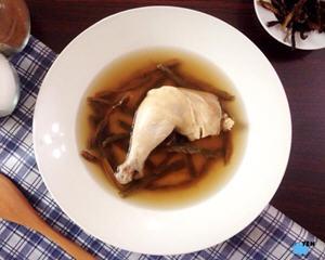 客家豆干鸡汤