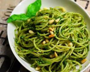 热那亚Pesto拌意面