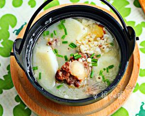 牛尾山药薏米汤