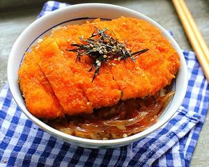 日式香酥鸡排饭