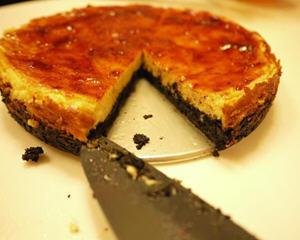 oreo草莓乳酪塔饼