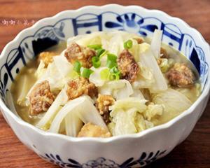 白菜炖酥肉家常做法
