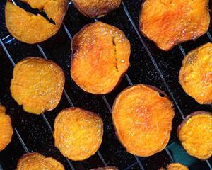 酥脆海盐红心薯片