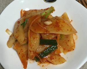 韩式辣萝卜片(速成法)