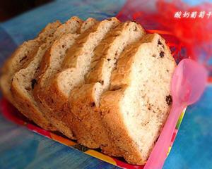 用面包机做酸奶葡萄干面包