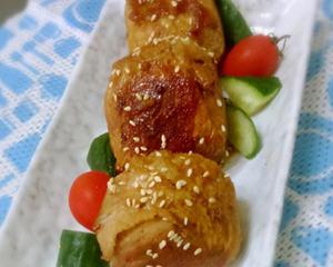 日式肉卷饭团烧