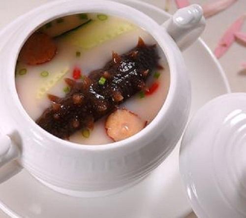 海参猪腰胡桃汤