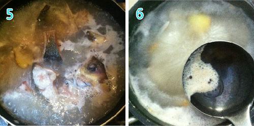 鲜美鱼头汤