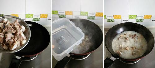菌菇排骨汤面
