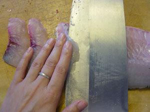 草鱼切片方法