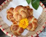 绣球面包卷