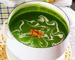 菠菜小米浓汤